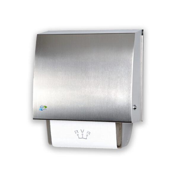 Handtuchspender für Stoffhandtücher SolidCare Integra Edelstahl